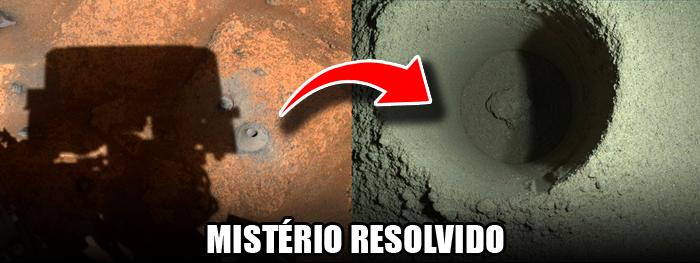 RESOLVIDO MISTÉRIO DA ROCHA MARCIANA DESAPARECIDA