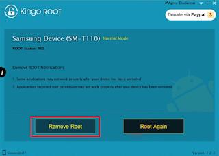 Cara Unroot Vivo V15 Menggunakan Software Kingoroot