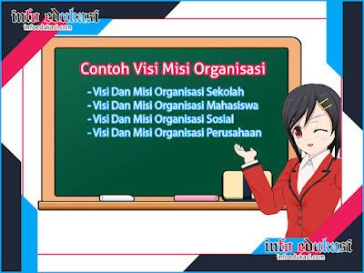 Kumpulan Contoh Visi Dan Misi Organisasi Yang Terbaik Dan Terlengkap