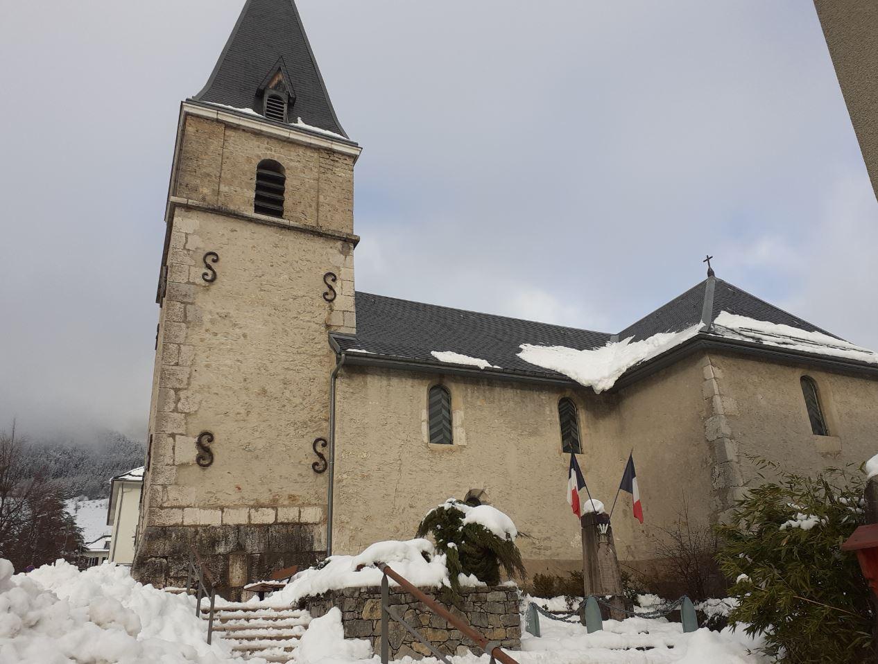 L'église du Sappey