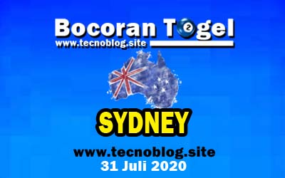 Bocoran Togel Sydney 31 Juli 2020