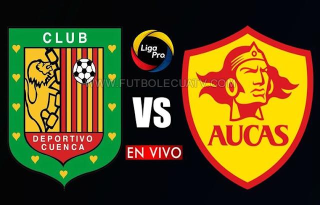 Deportivo Cuenca se mide ante Aucas en vivo a partir de las 19h30 horario local por la fecha veintidós de la Serie A realizándose en el campo Alejandro Serrano Aguilar, siendo el árbitro principal Marlon Vera con transmisión del medio autorizado GolTV Ecuador.