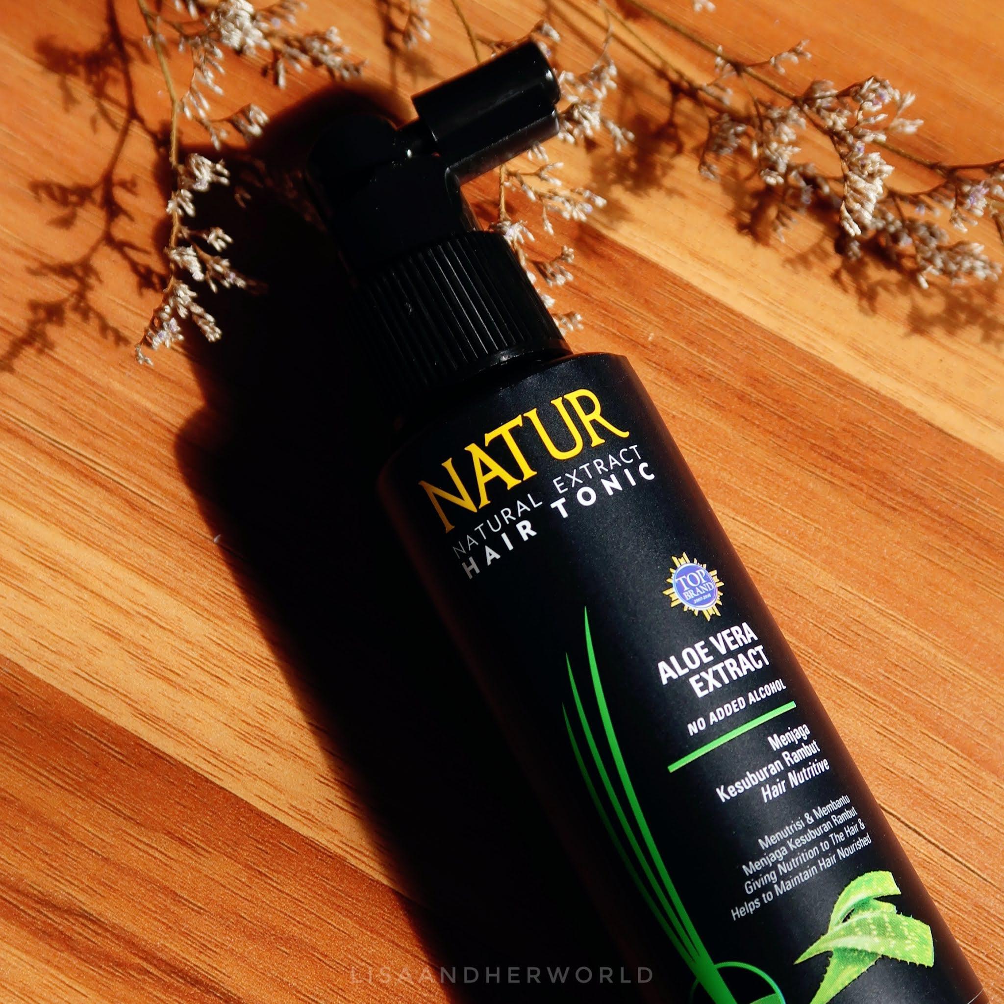 natur hair tonic review aloe vera
