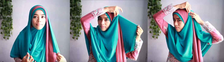 tutorial hijab syar'i 4