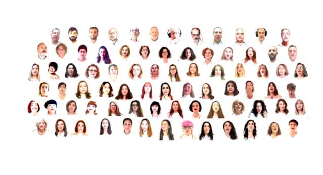 """80 καλλιτέχνες από όλο τον κόσμο με συμμετοχές και από το Ναύπλιο ένωσαν τις φωνές τους στην """"Τρεχαντήρα"""" (βίντεο)"""