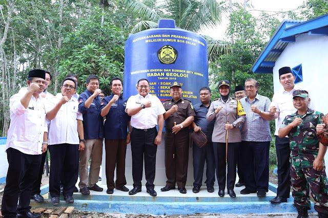 Pemerintah Pusat Apresiasi Inovasi Energi Terbarukan Bupati Muba