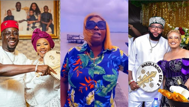 You saw how they were spraying money, but didn't you see how they are treating their wives?– Politician, Mama T slams men hailing Obi Cubana and E-money (Video)
