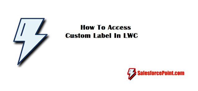 How To Access Custom Label In LWC