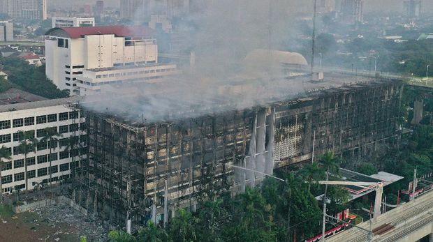 Api Kejagung Padam, 25 Tahanan Bakal Dikembalikan