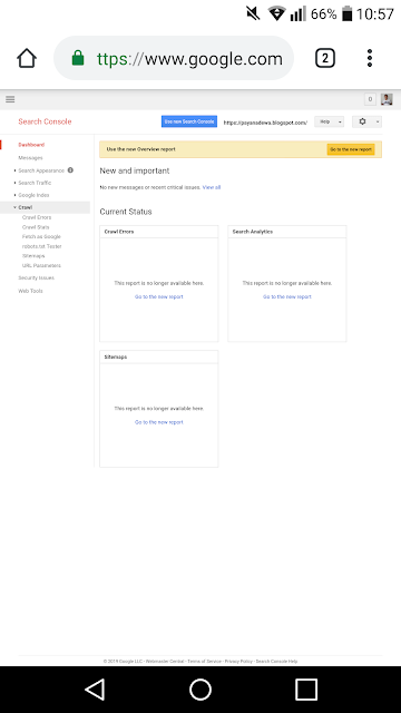 Cara Indek Artikel Blog ke Google Search Console Baru