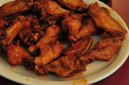 Deep-fried Hot & Spicy Chicken Wings