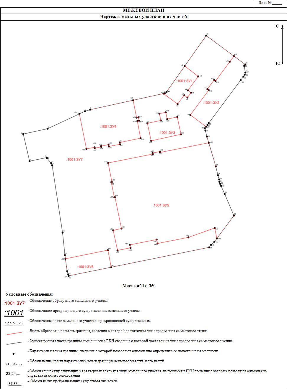 геодезическая схема