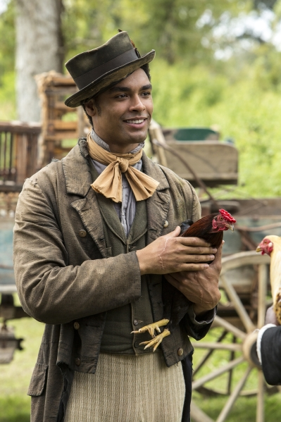 who played chicken george in roots 2016