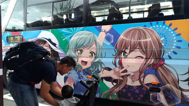 ke danau kawaguchiko dengan naik bus