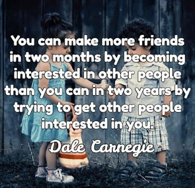 Gaining Friends Quotes