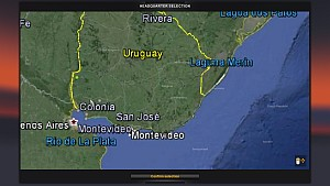 Uruguay Map 2.2