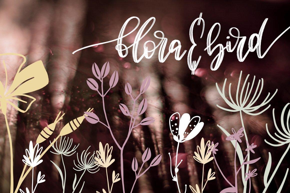 بونديل تجميعة فرش احترافية للفوتوشوب ازهار وورود ونقوش وزخارف للتصميم