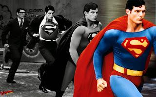 Transformação de Clark Kent em Superman