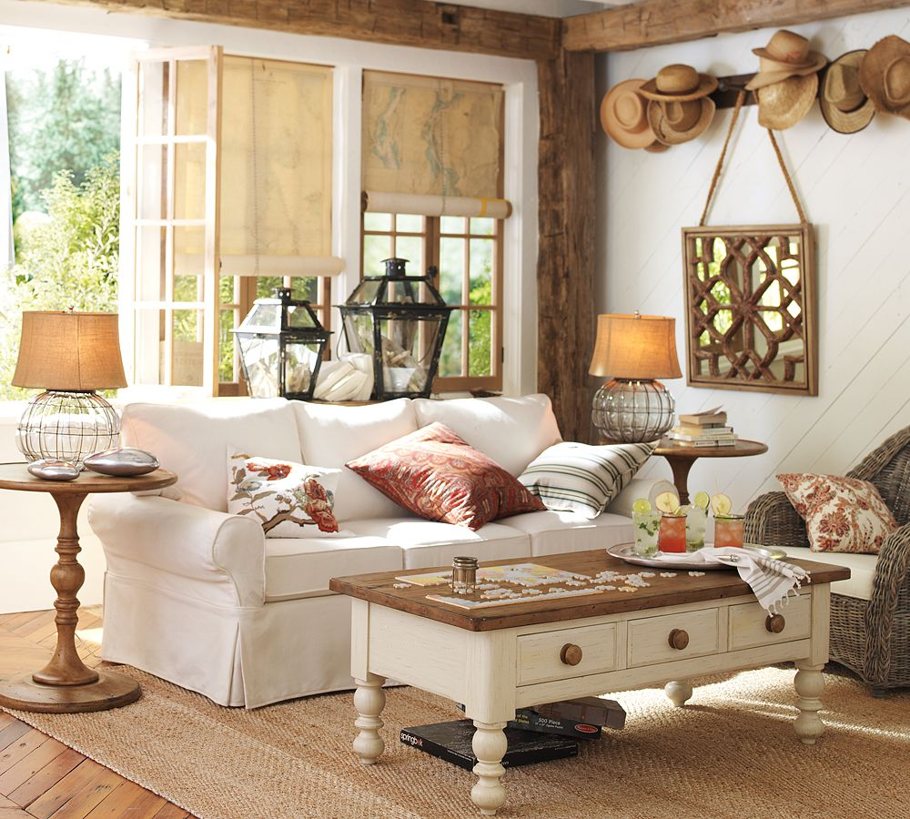 Going Coastal Pottery Barn Part I: It's Here! Pottery Barn Summer Catalog