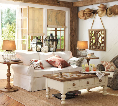 Its Here Pottery Barn Summer Catalog  The Wicker House