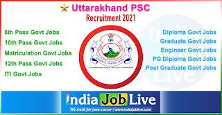 uttarakhand-psc-recruitment-indiajoblive.com