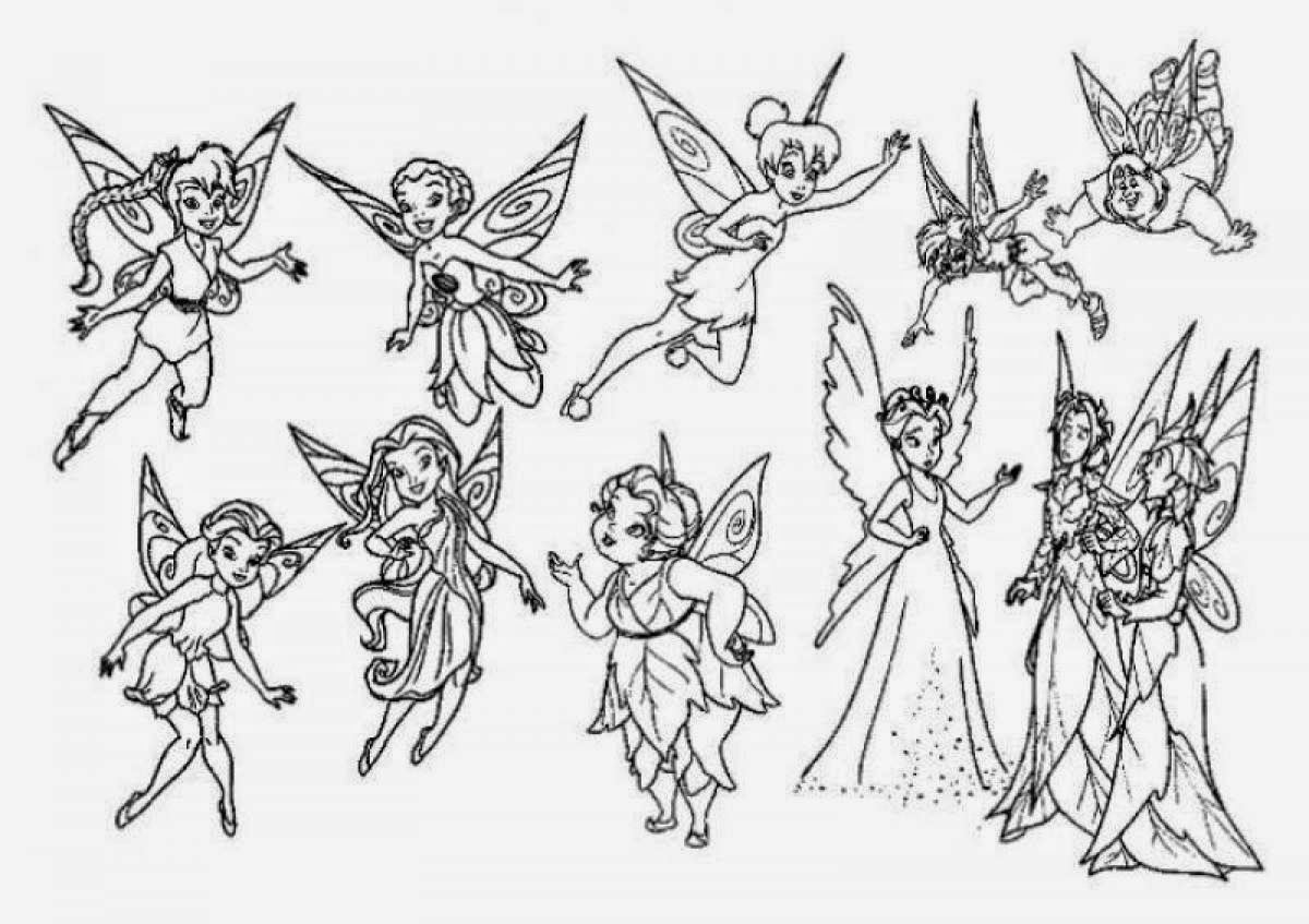 Coloring Pages Tinkerbell Coloring Pages And Clip Art