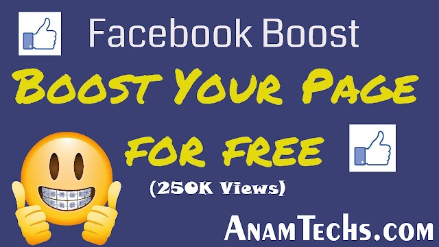 How To Boost Facebook Page For Free