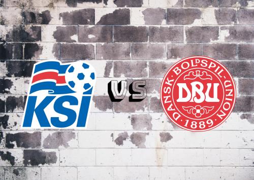 Islandia vs Dinamarca  Resumen