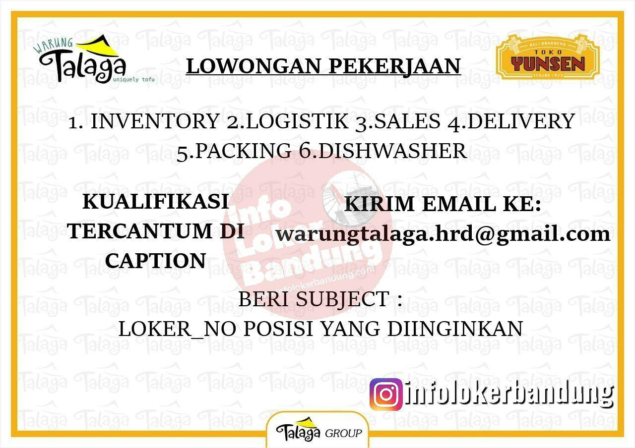 Lowongan Kerja Warung Talaga Bandung September 2019