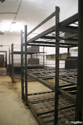 Una delle stanze dormitorio del Four a Chaux di Lembach