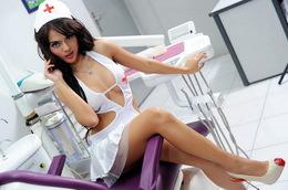 Foto Hot Anggita Sari Seragam Dokter