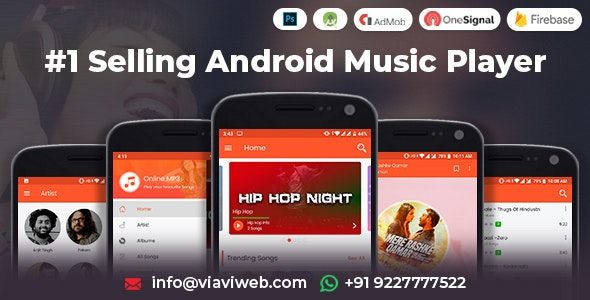 Download Android Music Player - Online MP3 (Songs) App (25 October 2019)