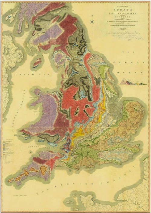 Peta William Smith Tahun 1815