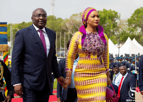 Bawumia's favourite food is cocoyam with garden eggs stew - Samira Bawumia