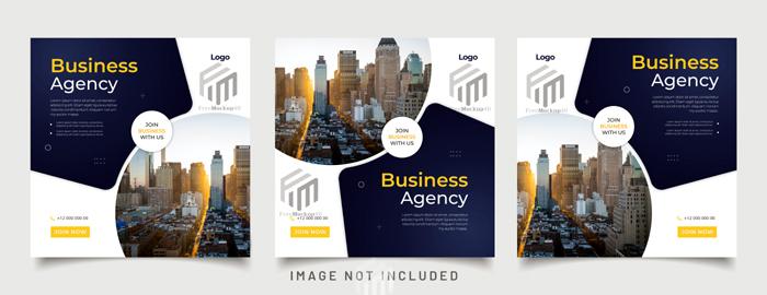 Digital Business Marketing Banner Social Media Post Template