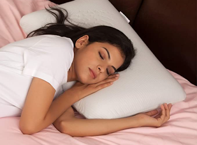 The White Willow Memory Foam Cooling Gel Orthopedic Bed Pillow to Have a Good Nights Rest