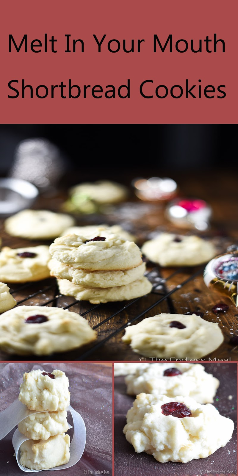 Christmas Stuff: Melt In Your Mouth Shortbread Cookies For ...