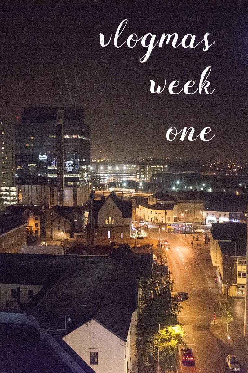Vlogmas Week One - Christmas Gift DIYs & House Things