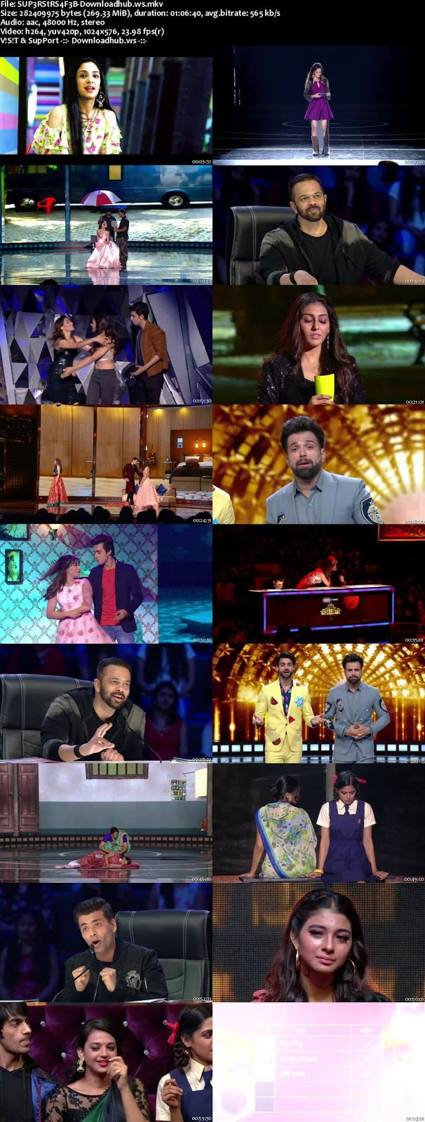 India's Next Superstars 04 February 2018 Episode 08 HDTV 480p