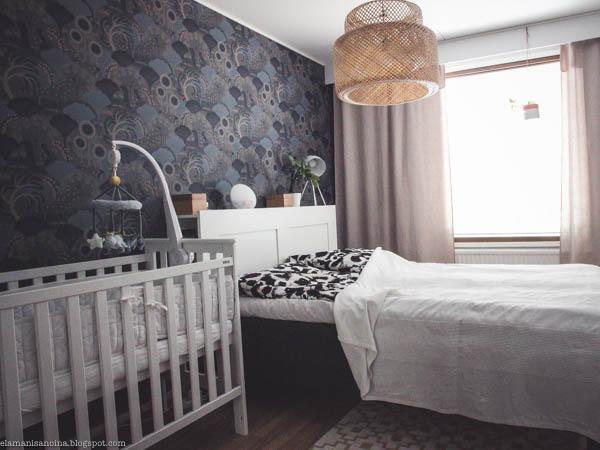 makuuhuoneen muutos, Boråstapeter Mårdgömma