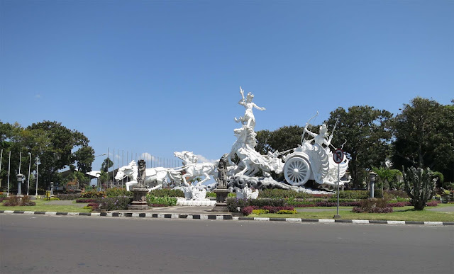 The First Statue Located At Big Round About You Can See This From Your Way Back Or To Ngurah Rai Airport