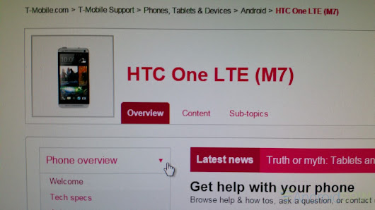 HTC One M7 T-Mobile Variant Will Get Android 5.0 Lollipop on March 10th ~ Kickedface