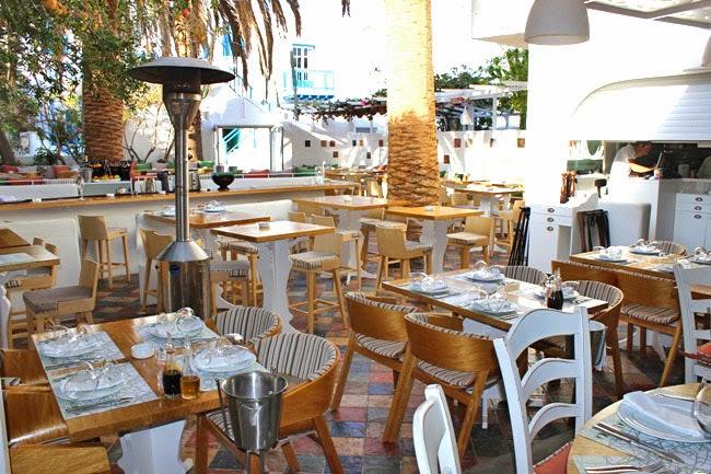 Mamalouka restoran na ostrvu Mikonos