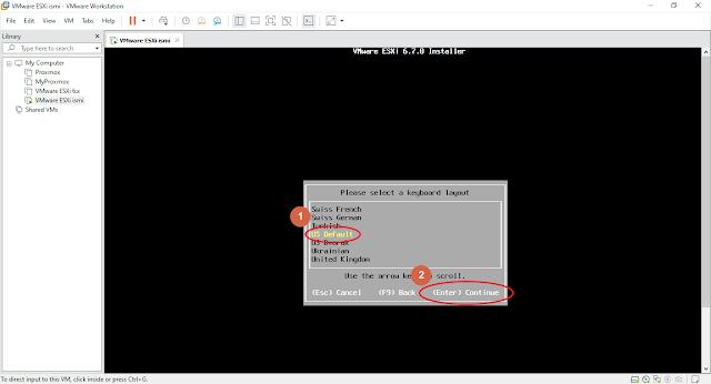 Instalasi VMware ESXI