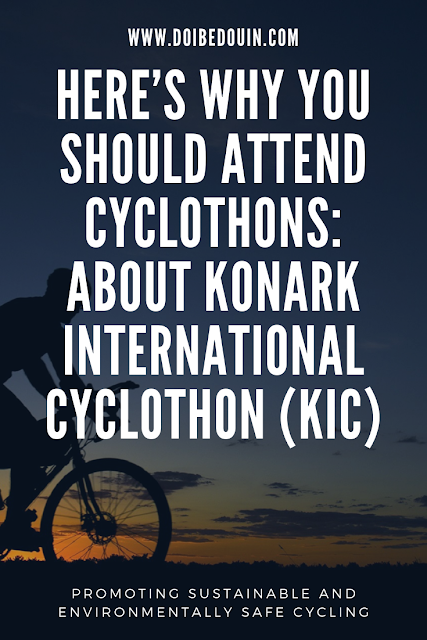 Here's Why You Should Attend Cyclothons: About Konark International Cyclothon (KIC) doibedouin