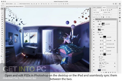 Adobe Photoshop CC 2019 Free Download lifetime