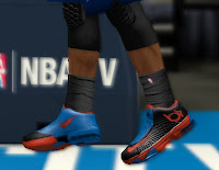 NBA 2K13 Nike KD 6 Shoes Oklahoma City Thunder