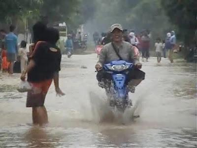 Diguyur Hujan Semalam, Satu Desa Di Jombang Terendam