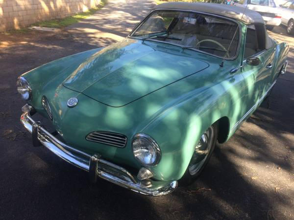 1965 Volkswagen Karmann Ghia Convertible Buy Classic Volks
