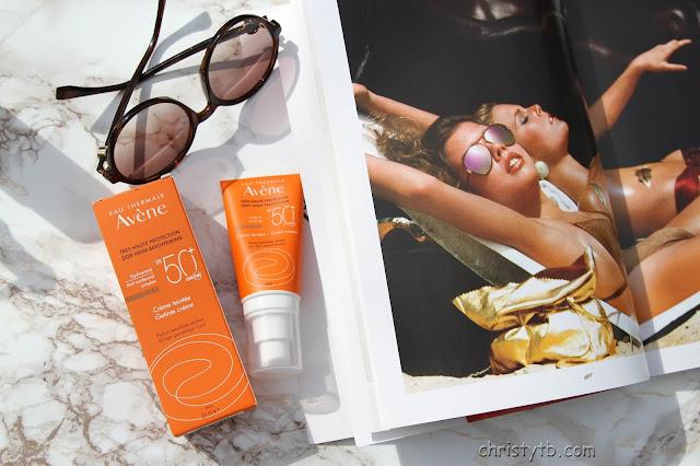 Солнцезащитный крем AVENE tinted cream SPF50+
